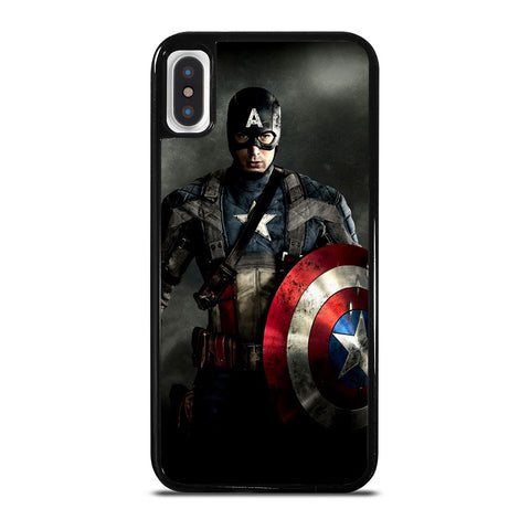 CAPTAIN AMERICA  MARVEL iPhone X / XS Case Cover