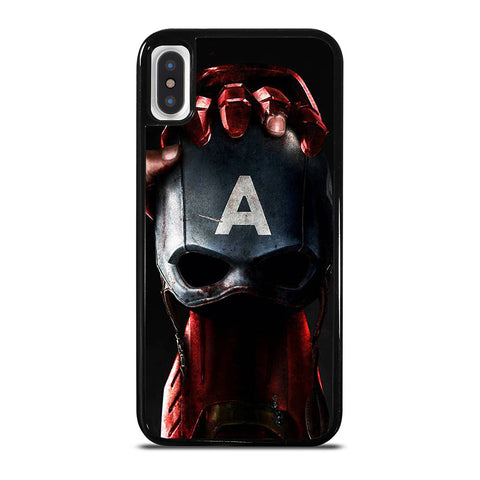 CAPTAIN AMERICA VS IRON MAN iPhone X / XS Case Cover