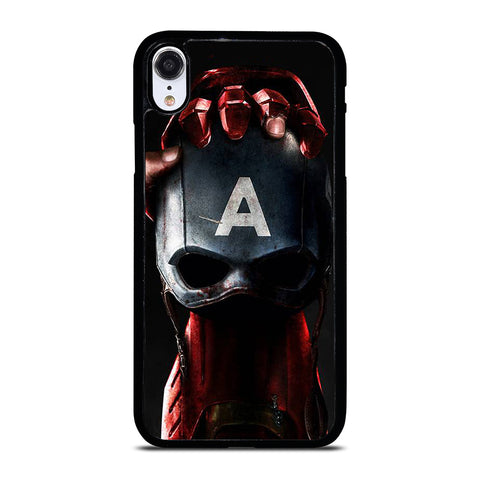 CAPTAIN AMERICA VS IRON MAN iPhone XR Case Cover