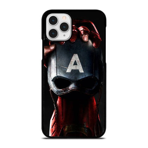 CAPTAIN AMERICA VS IRON MAN iPhone 11 Pro Case Cover