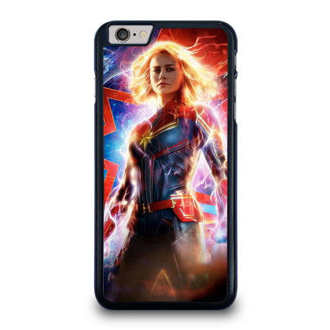 CAPTAIN MARVEL SUPER HERO iPhone 6 / 6S Plus Case Cover