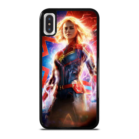 CAPTAIN MARVEL SUPER HERO iPhone X / XS Case Cover