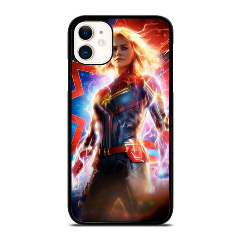 CAPTAIN MARVEL SUPER HERO iPhone 11 Case Cover