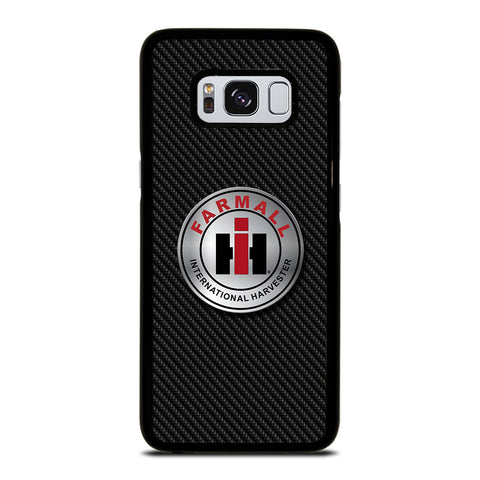 CASE IH INTERNATIONAL HARVESTER CARBON Samsung Galaxy S8 Case Cover