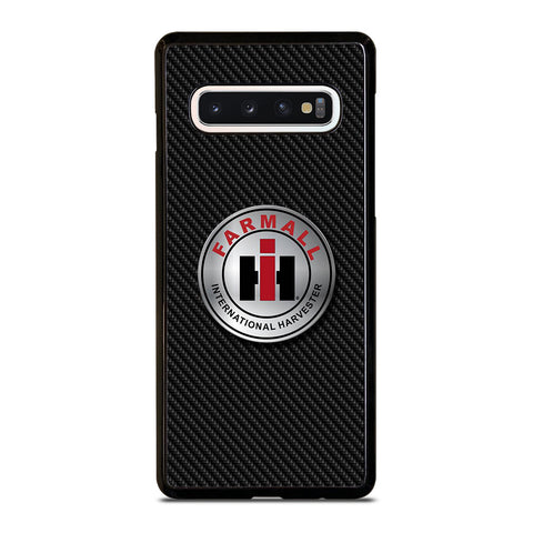 CASE IH INTERNATIONAL HARVESTER CARBON Samsung Galaxy S10 Case Cover