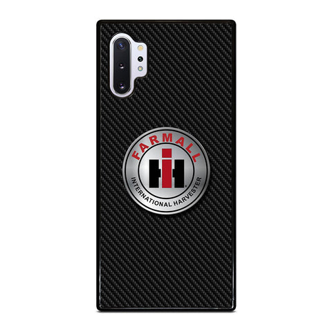 CASE IH INTERNATIONAL HARVESTER CARBON Samsung Galaxy Note 10 Plus Case Cover