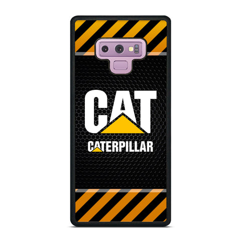 CAT CATERPILLAR METAL SYMBOL Samsung Galaxy Note 9 Case Cover