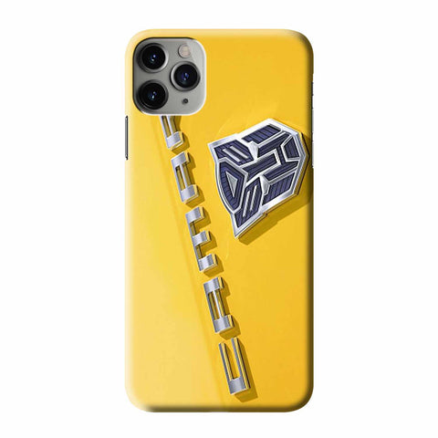 CHEVROLET CAMARO TRANSFORMERS iPhone 3D Case Cover