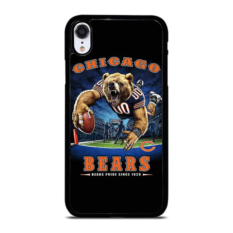 CHICAGO BEARS FOOTBALL MASCOT Phone XR Case Cover
