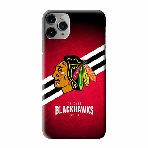 CHICAGO BLACKHAWKS HOCKEY ICE iPhone 3D Case Cover