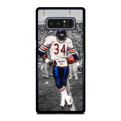 CHICAGO BEARS WALTER PAYTON 34 Samsung Galaxy Note 8 Case Cover