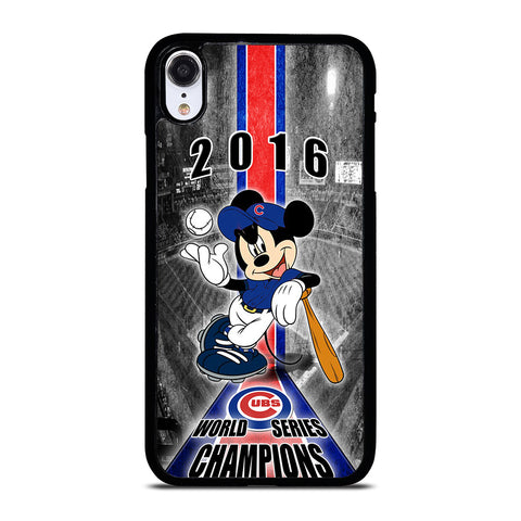 CHICAGO CUBS MICKEY MOUSE iPhone XR Case Cover