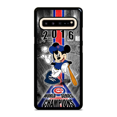 CHICAGO CUBS MICKEY MOUSE Samsung Galaxy S10 5G Case Cover