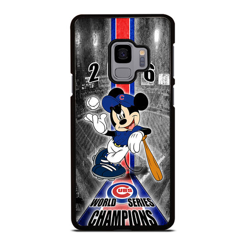 CHICAGO CUBS MICKEY MOUSE Samsung Galaxy S9 Case Cover