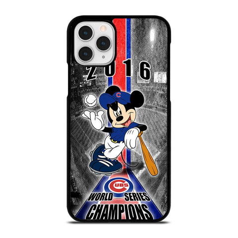 CHICAGO CUBS MICKEY MOUSE iPhone 11 Pro Case Cover