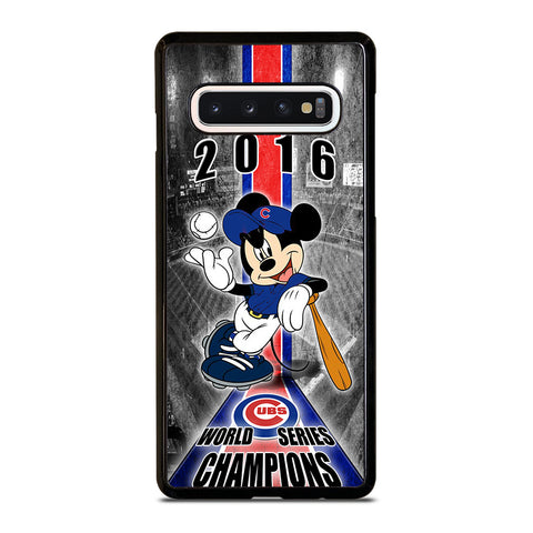 CHICAGO CUBS MICKEY MOUSE Samsung Galaxy S10 Case Cover