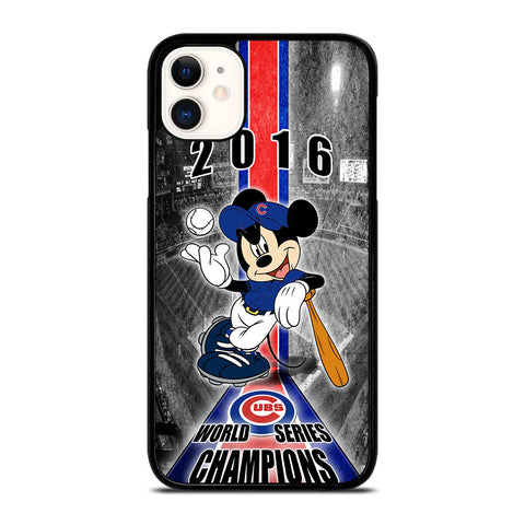 CHICAGO CUBS MICKEY MOUSE iPhone 11 Case Cover