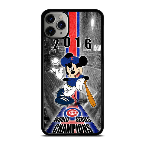 CHICAGO CUBS MICKEY MOUSE iPhone 11 Pro Max Case Cover