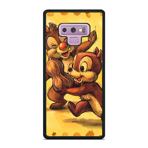 CHIP AND DALE CARTOON Samsung Galaxy Note 9 Case Cover