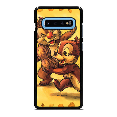 CHIP AND DALE CARTOON Samsung Galaxy S10 Plus Case Cover