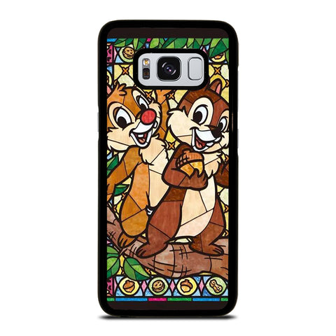 CHIP AND DALE DISNEY GLASS Samsung Galaxy S8 Case Cover