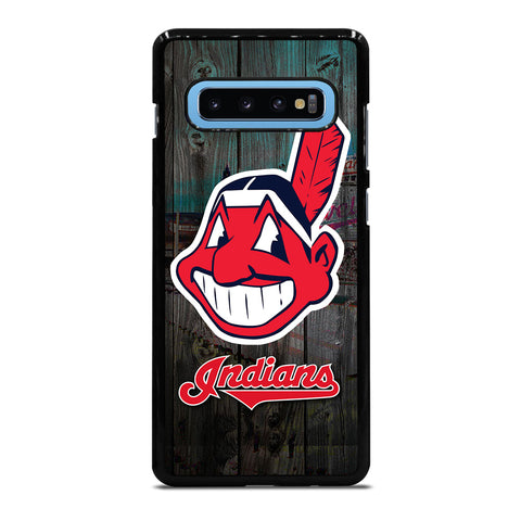 CLEVELAND INDIANS WOODEN LOGO Samsung Galaxy S10 Plus Case Cover