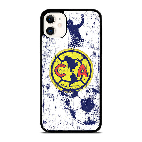 CLUB AMERICA AGUILAS FOOTBALL CLUB ART iPhone 11 Case Cover