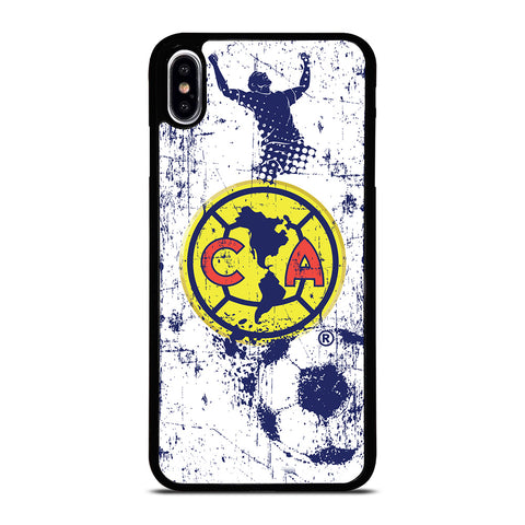 CLUB AMERICA AGUILAS FOOTBALL CLUB ART iPhone XS Max Case Cover