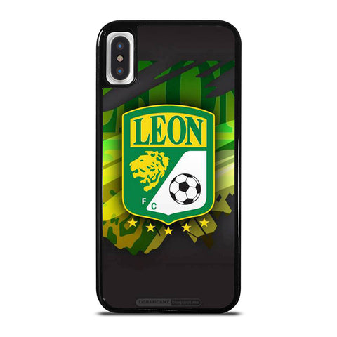 CLUB LEON FOOTBALL LOGO iPhone X / XS Case Cover