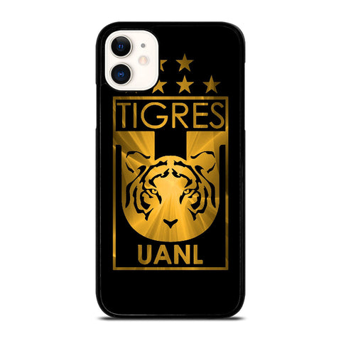 CLUB UANL TIGRES GOLD LOGO iPhone 11 Case Cover