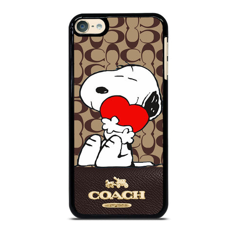 COACH NEW YORK SNOOPY iPod Touch 6 Case