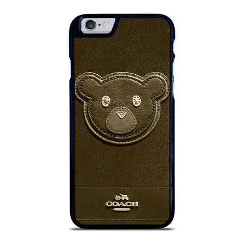 COACH NEW YORK BROWN BEAR iPhone 6 / 6S Case Cover