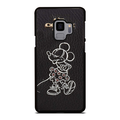 COACH DISNEY MINNIE MOUSE Samsung Galaxy S9 Case Cover
