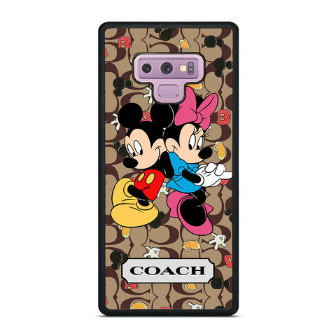COACH MICKEY MINNIE MOUSE LOVE Samsung Galaxy Note 9 Case Cover