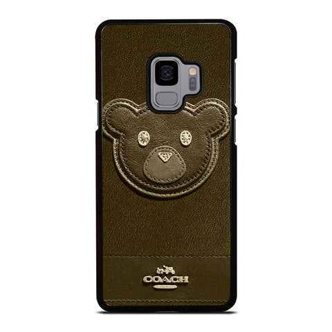 COACH NEW YORK BROWN BEAR Samsung Galaxy S9 Case Cover
