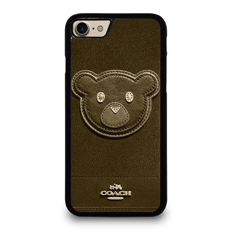 COACH NEW YORK BROWN BEAR iPhone 7 / 8 Case Cover