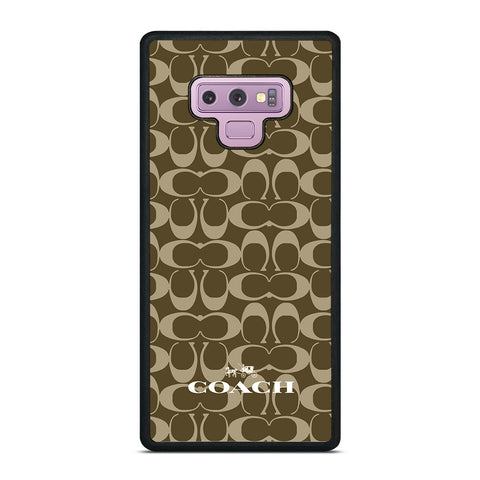 COACH NEW YORK ICON Samsung Galaxy Note 9 Case Cover