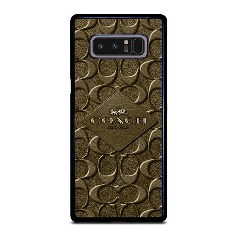COACH NEW YORK LOGO Samsung Galaxy Note 8 Case Cover