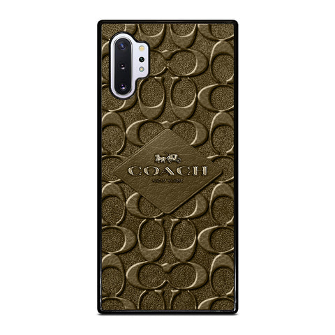 COACH NEW YORK LOGO Samsung Galaxy Note 10 Plus Case Cover