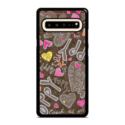 COACH NEW YORK NEW POOPY Samsung Galaxy S10 5G Case Cover
