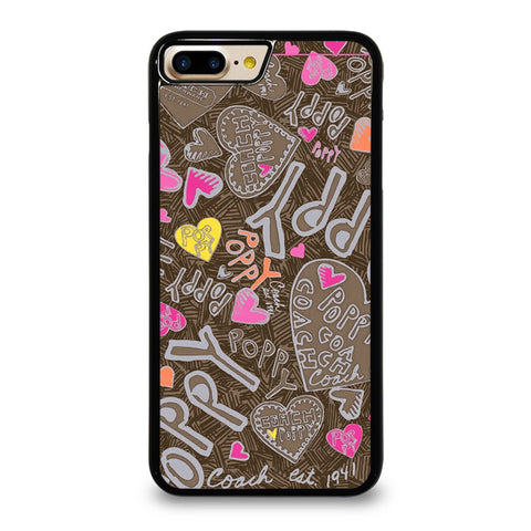 COACH NEW YORK NEW POOPY iPhone 7 / 8 Plus Case Cover