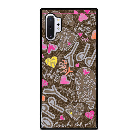 COACH NEW YORK NEW POOPY Samsung Galaxy Note 10 Plus Case Cover