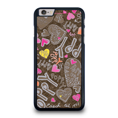 COACH NEW YORK NEW POOPY iPhone 6 / 6S Plus Case Cover