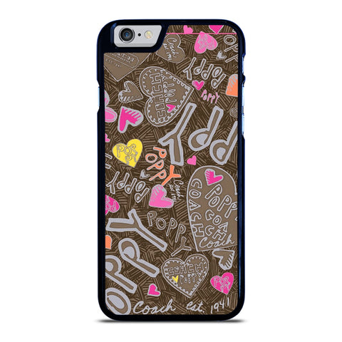 COACH NEW YORK NEW POOPY iPhone 6 / 6S Case