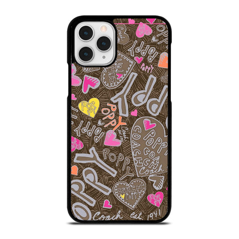 COACH NEW YORK NEW POOPY iPhone 11 Pro Case Cover