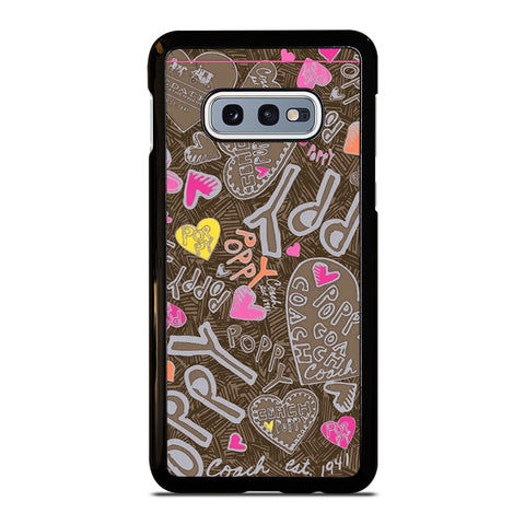 COACH NEW YORK NEW POOPY Samsung Galaxy S10e Case Cover