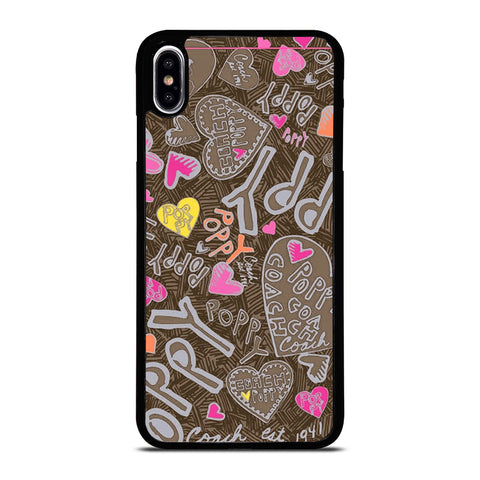 COACH NEW YORK NEW POOPY iPhone XS Max Case Cover