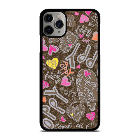 COACH NEW YORK NEW POOPY iPhone 11 Pro Max Case Cover