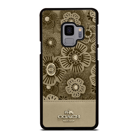 COACH NEW YORK TEA ROSE Samsung Galaxy S9 Case Cover