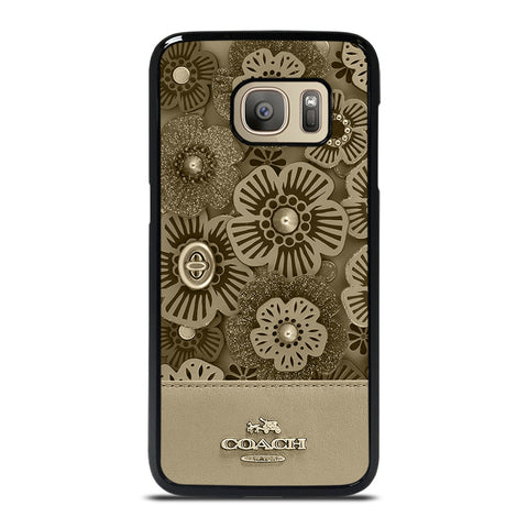 COACH NEW YORK TEA ROSE Samsung Galaxy S7 Case Cover